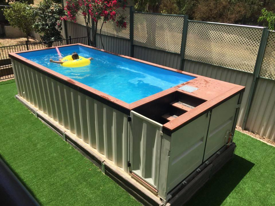 Piscinas en contenedores ltima tendencia muy sostenible for Empresas que construyen piscinas